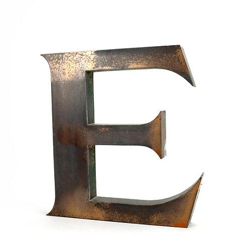 Large Copper Letter | E
