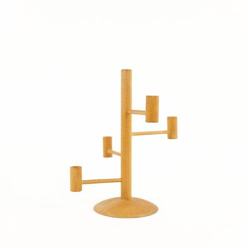 Handmade Wooden Candleholder from Denmark