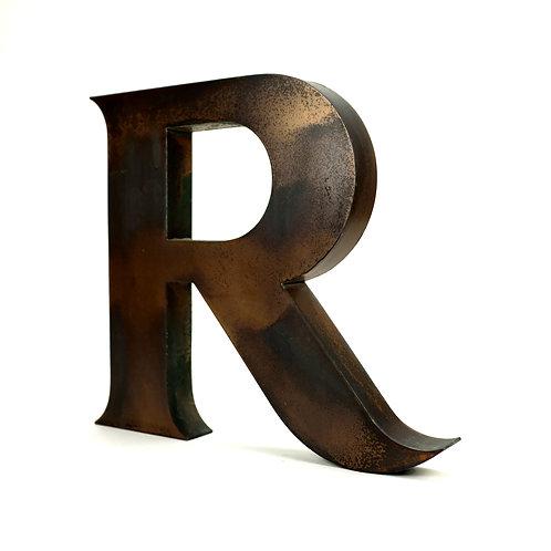 Large Copper Letter | R
