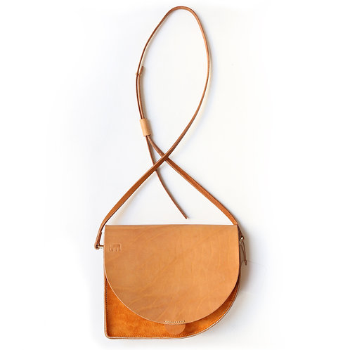 Handmade Leather Handbag By Marlies Davans