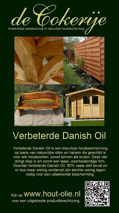 Improved Danish Oil - de Cokerije 0.5L
