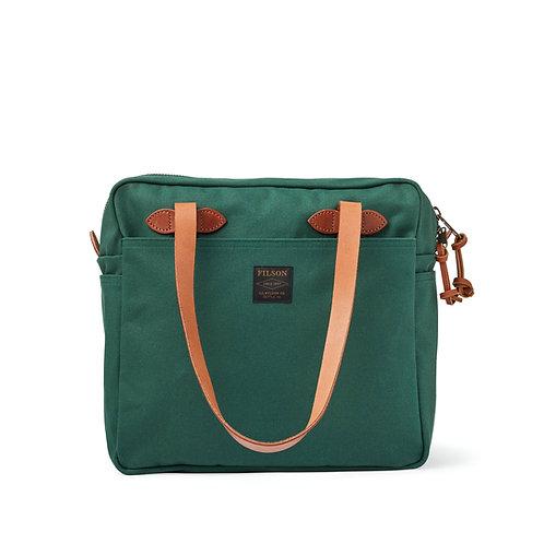 Filson - Rugged Twill Tote Bag w. Zipper - Hemlock