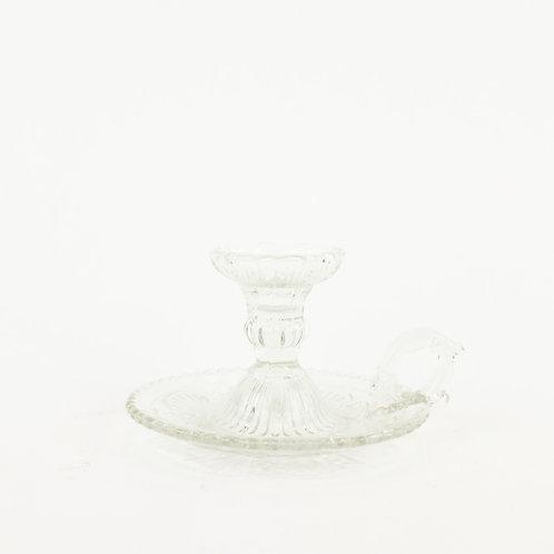 Glass Chamber Candleholder