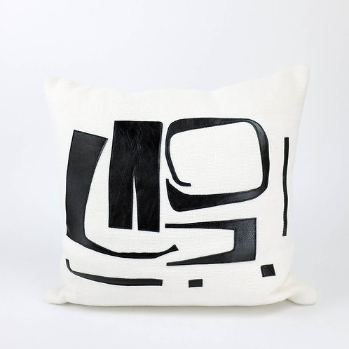 White 'Odradeks' Cushion