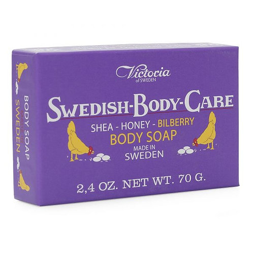 Swedish Body Care - Blueberry Soap