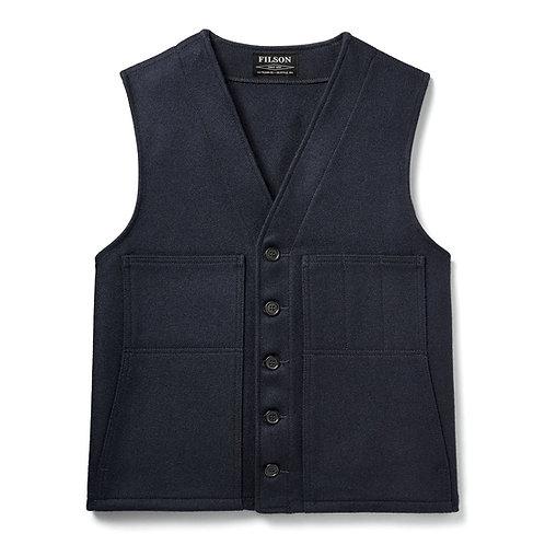 Filson | Mackinaw Wool Vest | Navy