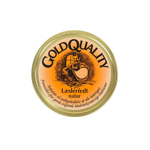 Gold Quality Leather Fat - 190ml
