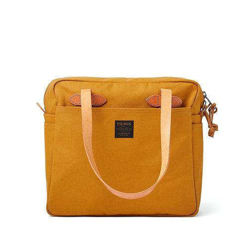 Filson - Rugged Twill Tote Bag w. Zipper | Chessie Tan