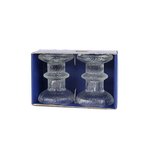 Glass Candleholders by LUMINARC