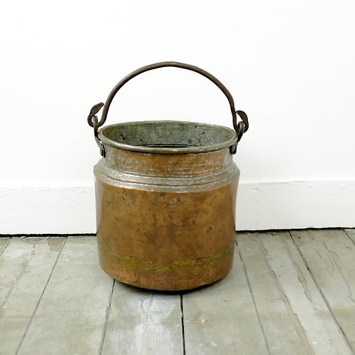 Handcrafted Copper Bucket