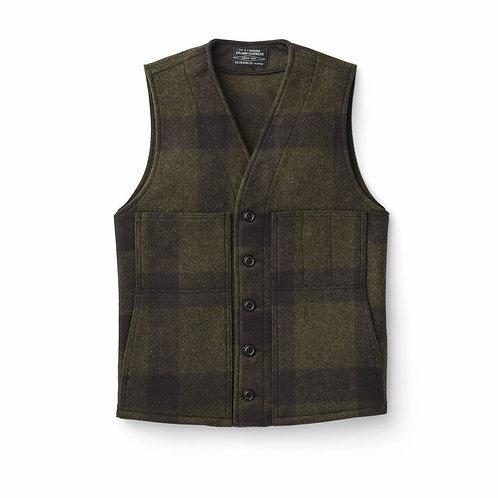 Mackinaw Wool Vest | Green\Brown