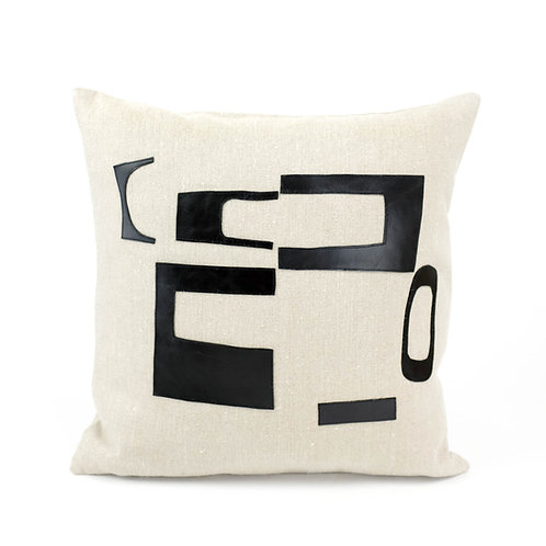 'Talking Heads' Cushion