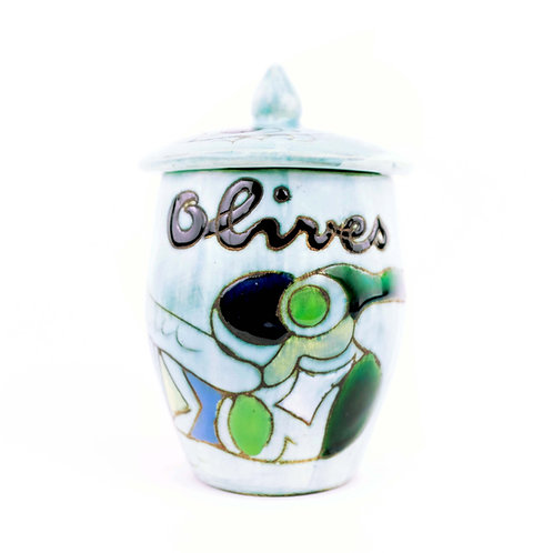 Olive Jar by Marie Christine Treinen - Vallauris