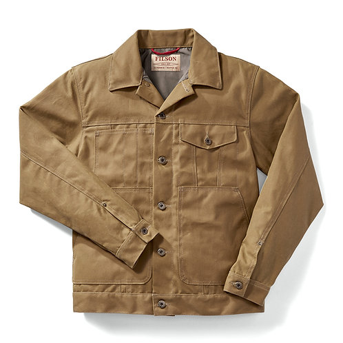 Short Lined Tin Cloth Cruiser Jacket