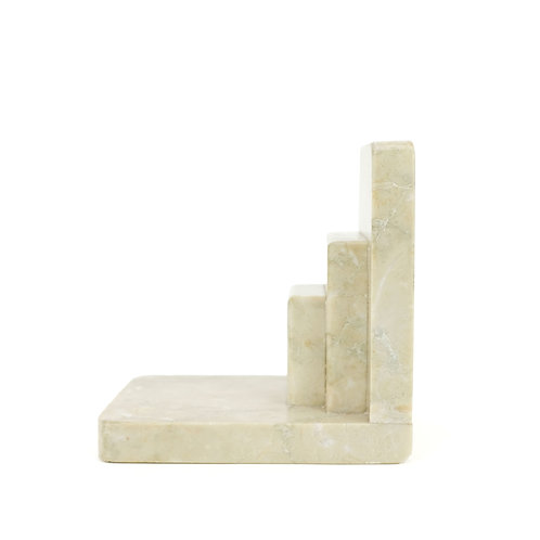 Art Deco Marble Bookend