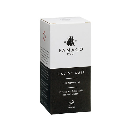 FAMACO Cleansing Milk for Smooth Leather - 100ml