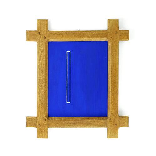 A stick   Solid Oak Frame