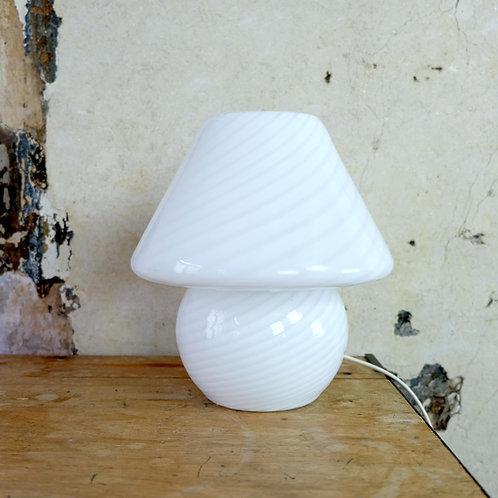 Vintage Murano Vetri Mushroom Lamp
