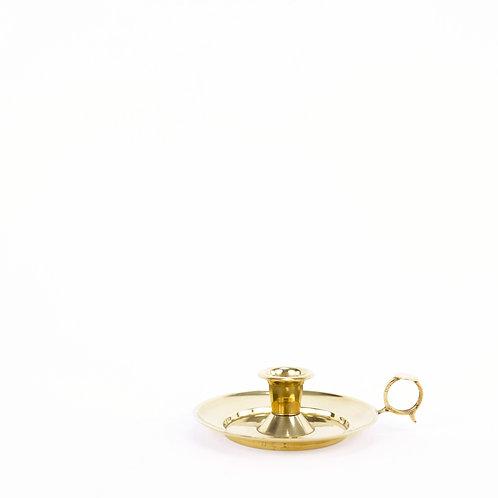 Elegant Brass Chamber Candleholder