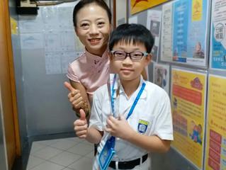 飛躍進步獎小主人,恭喜! 你的進步努力,也是我們老師們的源動力,大家努力加油!