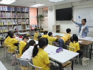 復活節星級課程的第一天-外籍英語課程