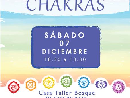 """Taller """"EL VIAJE DE LOS CHAKRAS"""""""