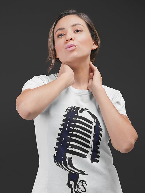 3LGY Ladies Microphone Tee