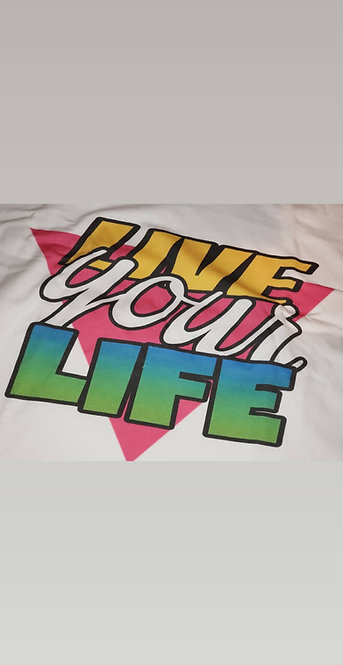 3rilogy Live Your Life Tee