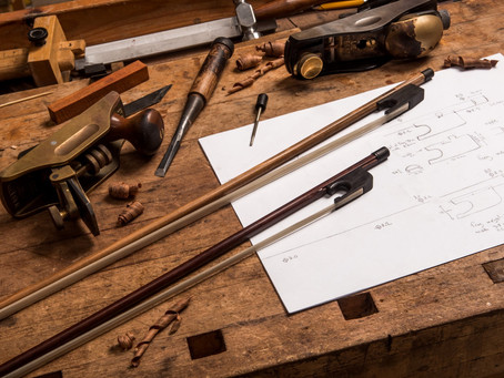 How to make a BAROQUE bow?
