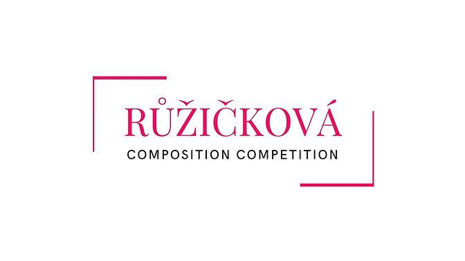 Ruzickova Composition Competition Logo-w