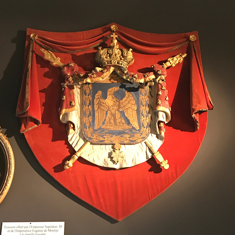 Coat of arms gifted by Napoleon
