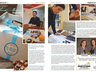 Chocolats de Pascale in Claremont Living Magazine