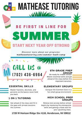 Summer Math Stress 2019 Mid-Season FINAL