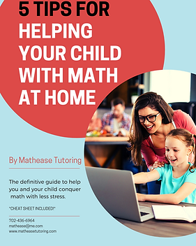 5 Tips for Helping Your Child with Math