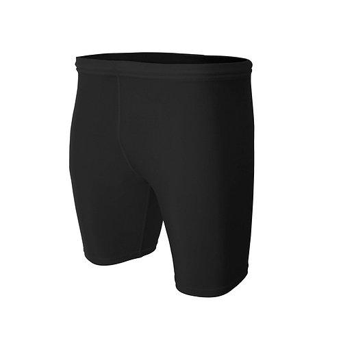 Black Compression Shorts - Cadet Core Exercise Uniform