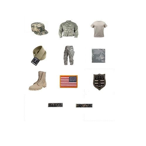Complete Cadet Core Tactical Uniform (CCTU)