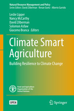 """EOE staff wrote a chapter in the book: """"Climate Smart Agriculture - Building Resilience to Clim"""