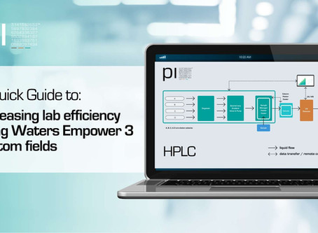 Increase Lab Efficiency Using Waters Empower 3 Custom Fields