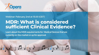 MDR: What is Considered Sufficient Clinical Evidence?