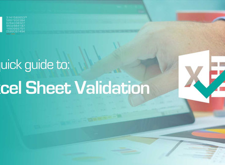 How To Validate Your Excel Sheet (GMP)