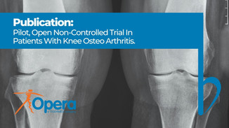Pilot, Open Non-Controlled Trial With Patients Affected by Knee Arthritis