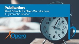 Plant Extracts for Sleep Disturbances: A Systematic Review