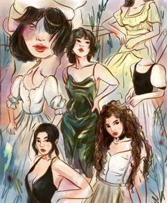 A Study of Dresses