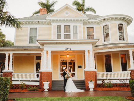 Danielle & CJ's Wedding Day | Heitman House | Downtown Fort Myers, Florida