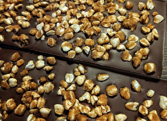 Salted caramel puffed buckwheat - Milk