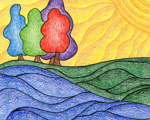 Groovy Landscape 1