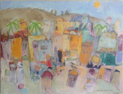 'Italian Hill Town' 2012