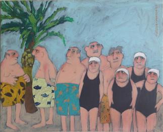 'Senior Division of the Piranhas Competitive Swim Team, Port St. Lucie, Florida' 2013