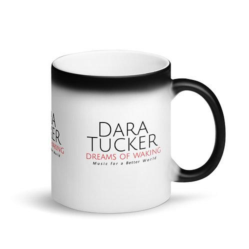 Dara Tucker -- Matte Black Magic Mug