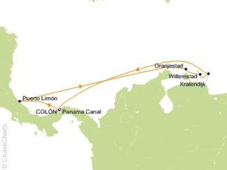 Aruba, Curazao, Bonaire, Cartagena